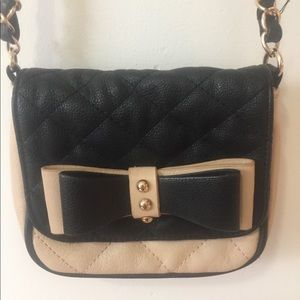 Aldo pink quilted purse